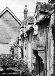 Old Cottages c.1960, South Harting