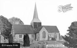 Parish Church c.1955, South Harting