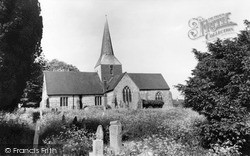 South Harting, St Mary And St Gabriel Church c.1960