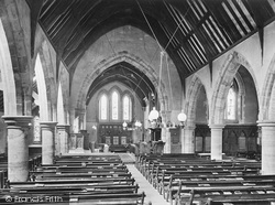 South Holmwood, Church Interior 1922