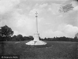 South Holmwood, Memorial 1921