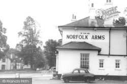 South Holmwood, Norfolk Arms c.1965