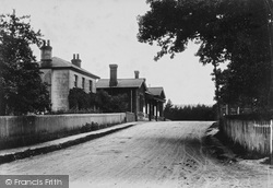 South Holmwood, The Station 1909