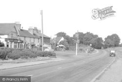 South Holmwood, The Village c.1955