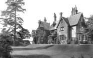 South Holmwood, Vicarage 1908