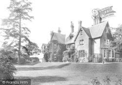 South Holmwood, Vicarage 1908