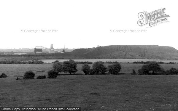 Photo of South Kirkby, the Colliery c1965