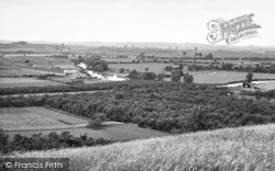 South Littleton, General View c.1960