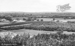 South Littleton, View From The Hill c.1960
