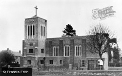 South Merstham, All Saints Church c.1960