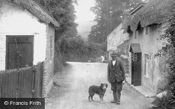Man And His Dog 1927, South Milton