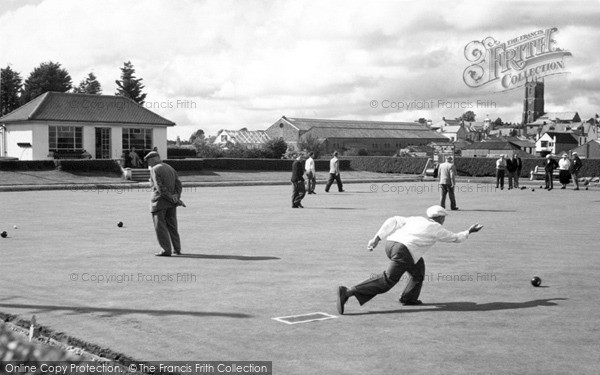 South Molton, The Bowling Green c.1960