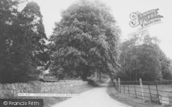 Church Lane c.1965, South Moreton