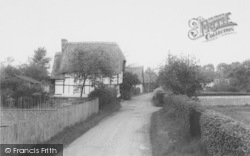 Manor Lane c.1965, South Moreton
