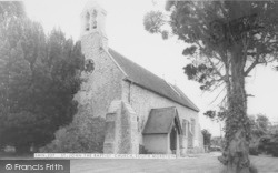 St John The Baptist Church c.1965, South Moreton