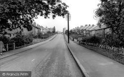 South Normanton, Birchwood Lane c.1960