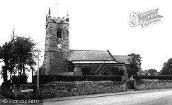 South Normanton, Church Of St Michael And All Angels c.1955