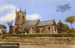 Church Of St Michael And All Angels c.1955, South Normanton