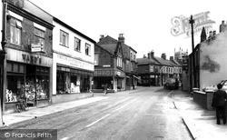 South Normanton, High Street c.1960