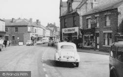 South Normanton, Market Place c.1960