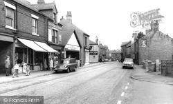 South Normanton, Market Street c.1965