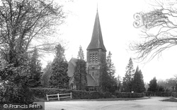 South Nutfield, Christ Church 1922