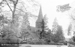 South Nutfield, Christ Church c.1960