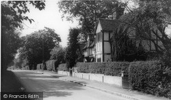 South Nutfield, Magpie Cottage c.1960