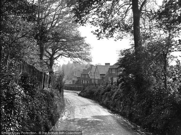 Photo of South Nutfield, the Village 1928