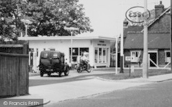 South Ockendon, Service Station, North Road c.1960