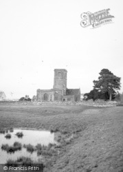 Church And Mohun Castle Earthworks 1959, South Perrott