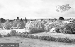 South Petherton, From Mere Linches c.1955