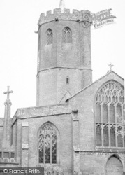 The Parish Church c.1960, South Petherton