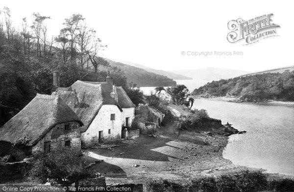 Photo of South Pool, The Creek From Gullet 1890