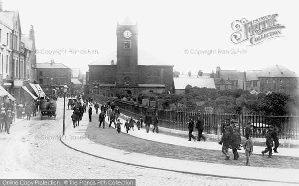Photo of South Shields, Church Way c1898, ref. s162008