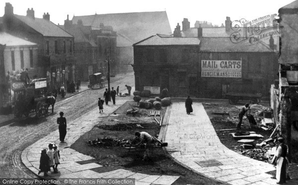 Photo of South Shields, Fowler Street c1900, ref. s162006
