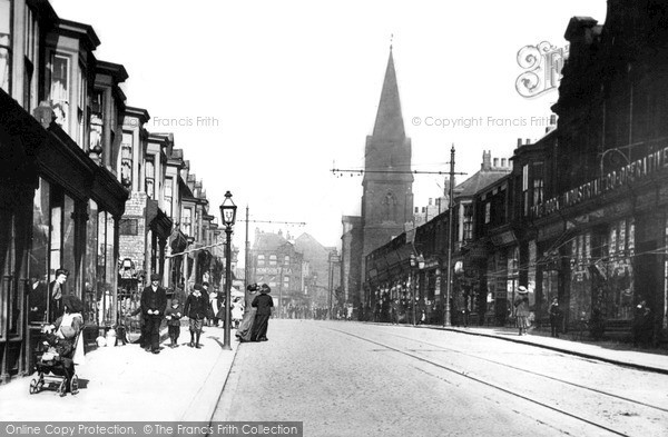 Photo of South Shields, Frederick Street c1906, ref. s162002