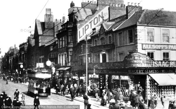 Photo of South Shields, King Street 1906, ref. s162003x