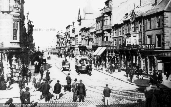 Photo of South Shields, King Street c1883, ref. s162010