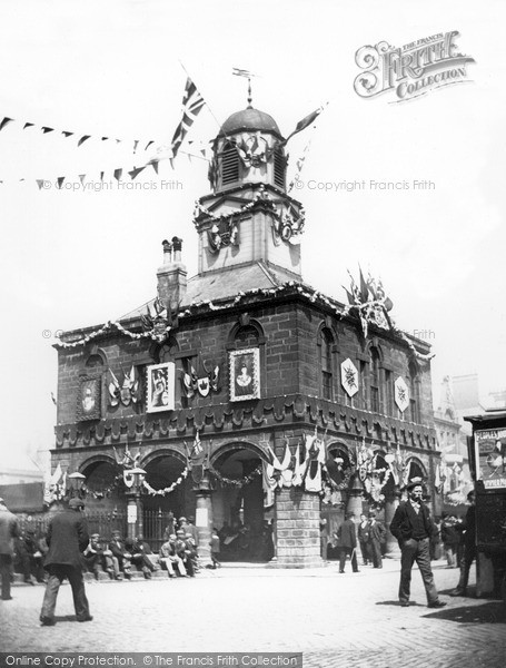 Photo of South Shields, Market Place 1902