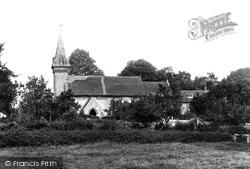 St Leonard's Church 1898, South Stoke
