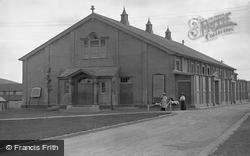 South Tidworth, Barracks, Garrison Theatre c.1910