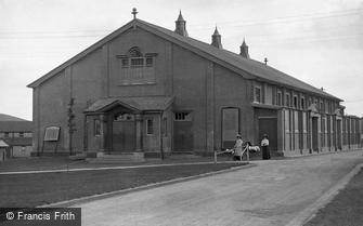 South Tidworth, Barracks, Garrison Theatre c1910