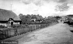 South Tidworth, Old Cottages 1962