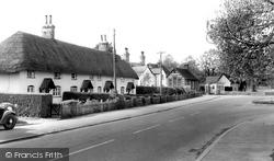 South Tidworth, Old Cottages c.1962