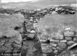 South Uist, Wheel House, Kilpheder 1963