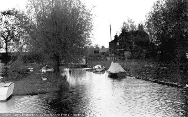 Photo of South Walsham, Broad Near St Benet's c.1935