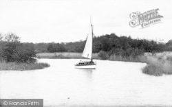 South Walsham, Broad, Yachting c.1931