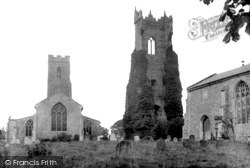 South Walsham, Churches Of St Mary And St Lawrence 1934