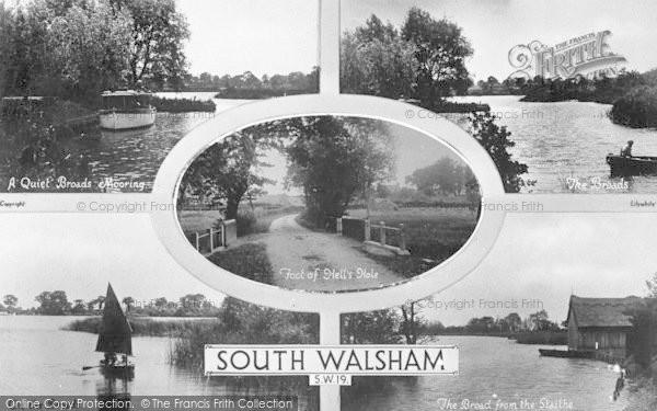 Photo of South Walsham, Composite c.1935